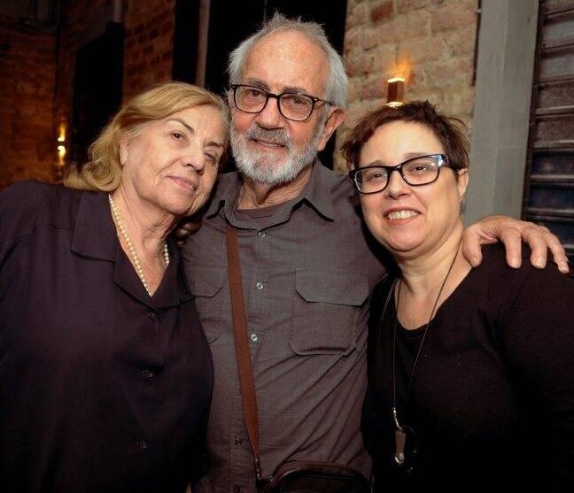 Jacqueline Laurence, Paulo José e Kika Lopes , em 2012  /Foto: Arquivo site Lu Lacerda