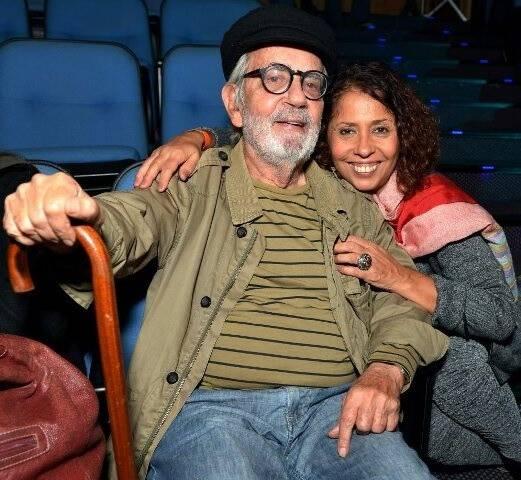 Paulo José e Ana Luísa Lima , em 2016  /Foto: Arquivo site Lu Lacerda