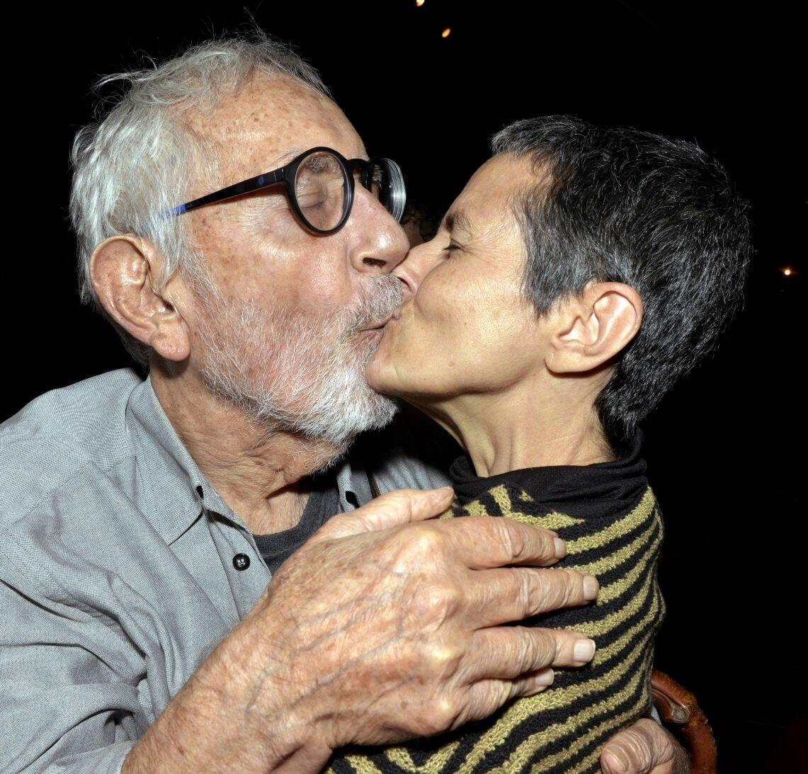 Paulo José e Bia Lessa, em 2019  /Foto: Arquivo site Lu Lacerda