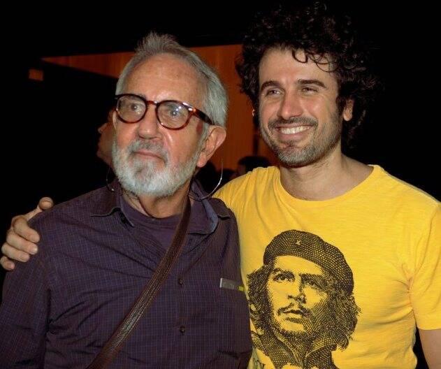 Paulo José e Eriberto Leão, em 2012  /Foto: Arquivo site Lu Lacerda