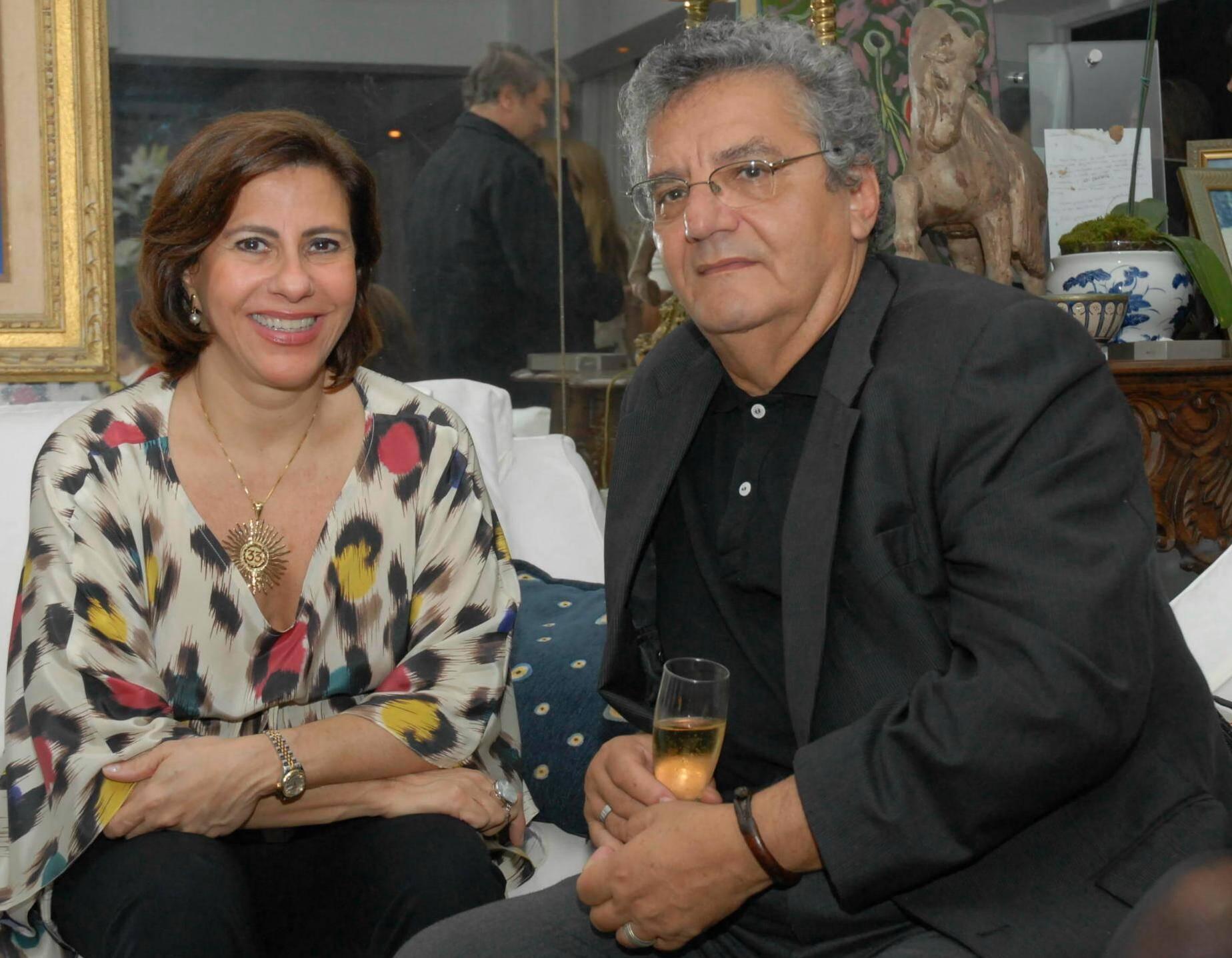 Alice Maria Tamborindeguy e Jorge Salomão, em 2011 /Foto: Arquivo site Lu Lacerda