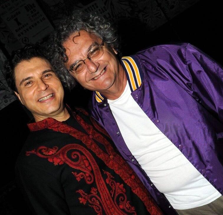 Frejat e Jorge Salomão, em 2012 /Foto: Arquivo site Lu Lacerda