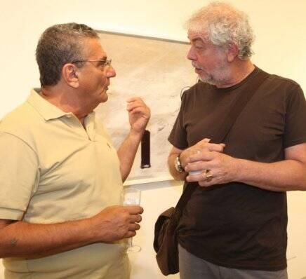 Jorge Salomão e Antonio Bernardo, em 2010 /Foto: Arquivo site Lu Lacerda