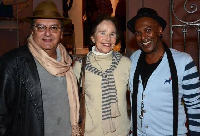 Jorge Salomão, Phylis Huber e Bell Billys, em 2012 /Foto: Arquivo site Lu Lacerda