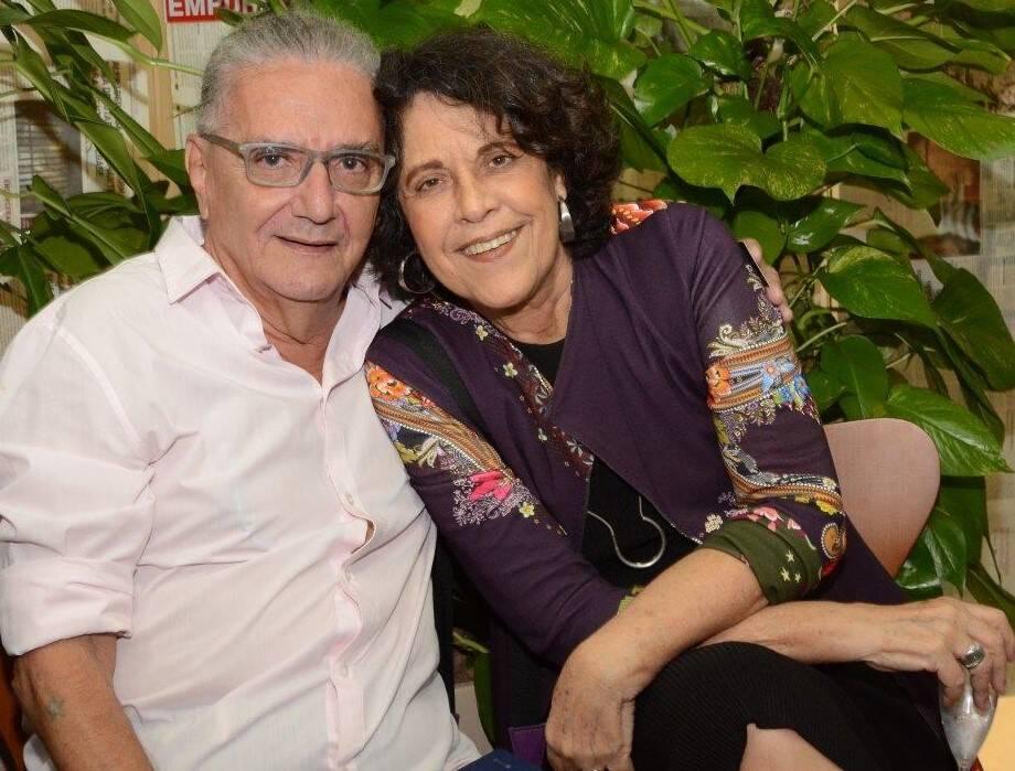 Jorge Salomão e Eliane Caruso, em 2019 /Foto: Arquivo site Lu Lacerda
