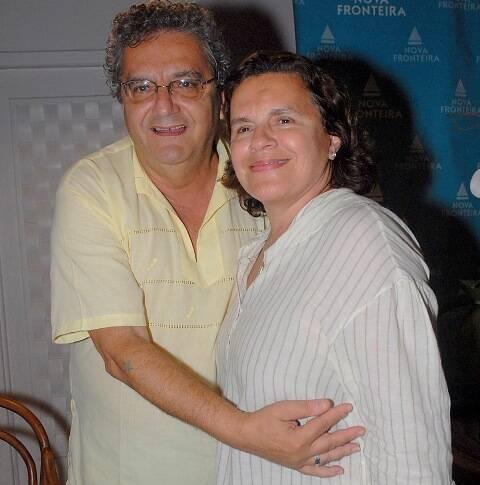 Jorge Salomão e Gilda Mattoso, em 2011 /Foto: Arquivo site Lu Lacerda