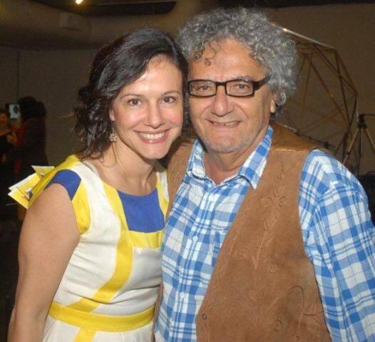 Lorena Calabria e Jorge Salomão, em 2015 /Foto: Arquivo site Lu Lacerda