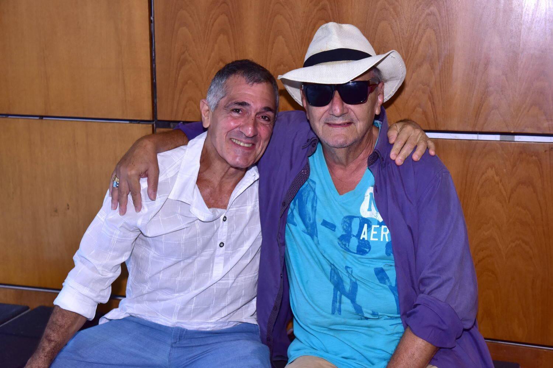Luiz Pizarro e Jorge Salomão, em 2019 /Foto: Arquivo site Lu Lacerda