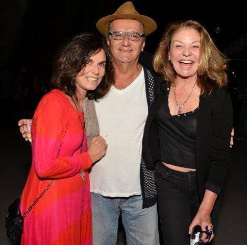 Marcia Braga, Jorge Salomão e Sylvia Martins, em 2017 /Foto: Arquivo site Lu Lacerda