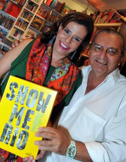 Narcisa Tamborindeguy e Jorge Salomão, em 2013 /Foto: Arquivo site Lu Lacerda