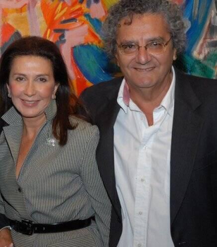 Tanit Galdeano e Jorge Salomão, em  2010 /Foto: Arquivo site Lu Lacerda