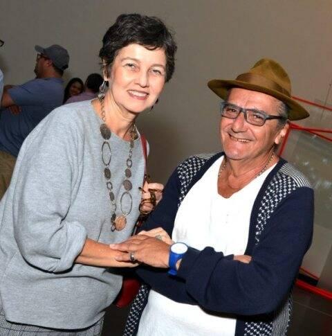 Claudia Noronha e Jorge Salomão, em 2017 /Foto: Arquivo site Lu Lacerda