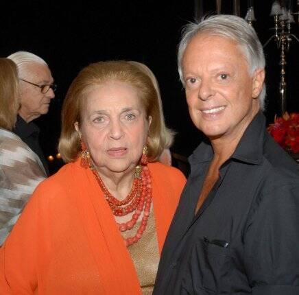 Glorinha Paranaguá e Guilherme Guimarães em 2010 /Foto: Arquivo site Lu Lacerda