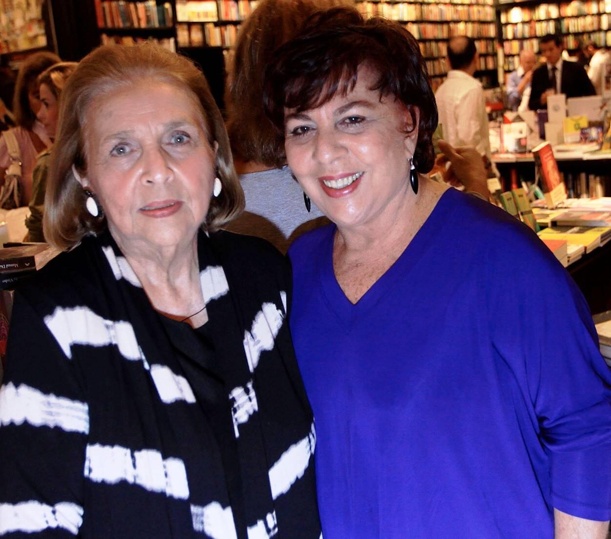 Glorinha Paranaguá e Malba Paiva em 2011 /Foto: Arquivo site Lu Lacerda