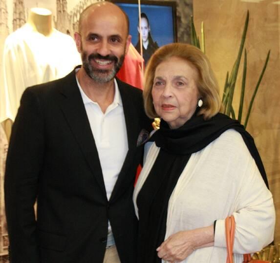 Cláudio Gomes e Glorinha Paranaguá em 2012 aguá 2012 /Foto: Arquivo site Lu Lacerda