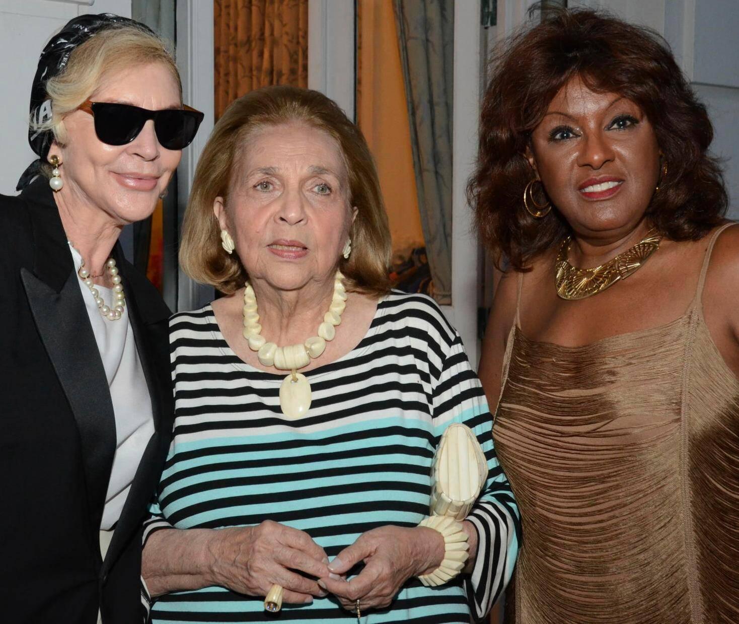 Ingrid Öhrström, Glorinha Paranaguá e Beth Suzano em 2012 /Foto: Arquivo site Lu Lacerda