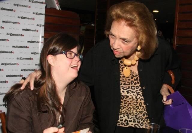 Maria Cristina de Orleans e Bragança e Glorinha Paranaguá em 2013 /Foto: Arquivo site Lu Lacerda