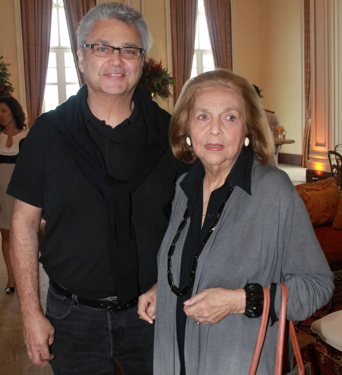 Pedro Paranaguá (1953-2018) e Glorinha Paranaguá em 2011 /Foto: Arquivo site Lu Lacerda