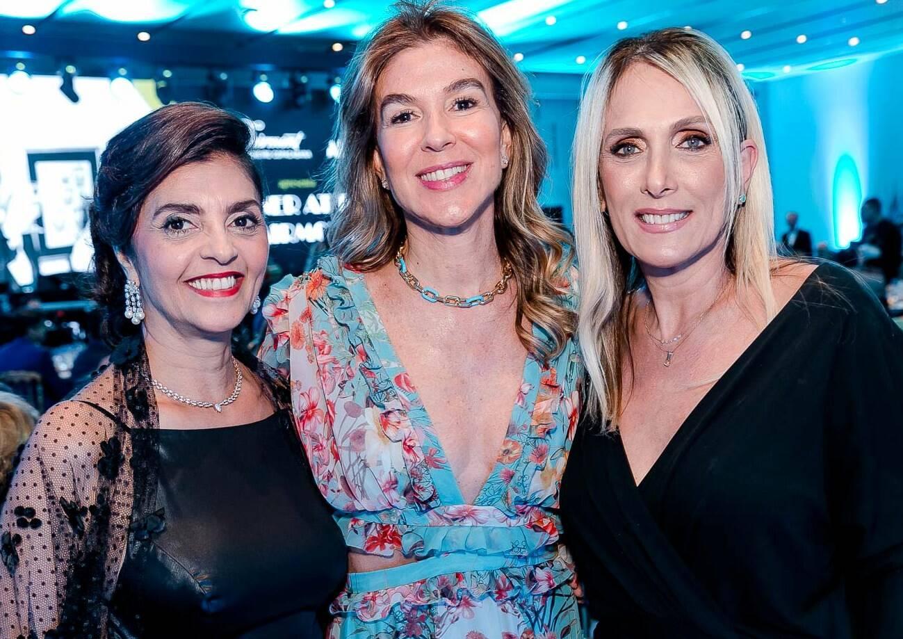 Ana Cristina Villaça, Bete Floris e Shirley Sobotika /Foto: Bruno Ryfer