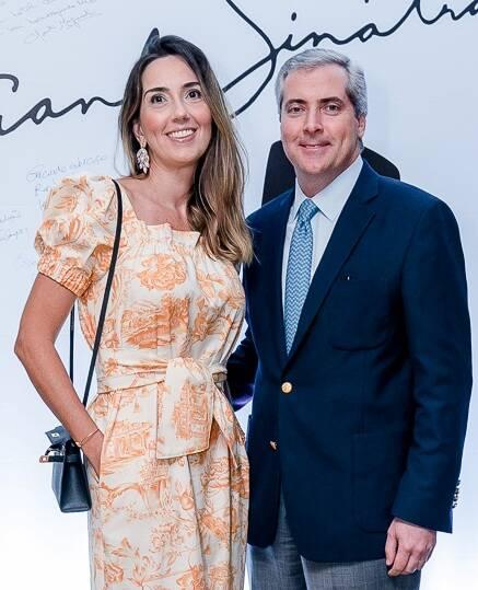 O casal Luiz Eduardo Osório e Juliana Osório /Foto: Bruno Ryfer