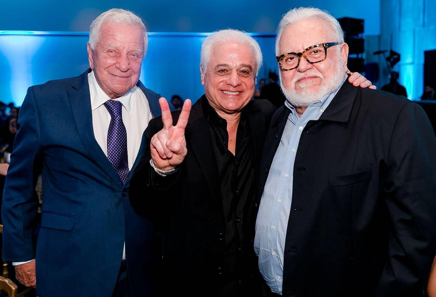 Mauro Magalhães, Roberto Medina e Ricardo Amaral /Foto: Bruno Ryfer