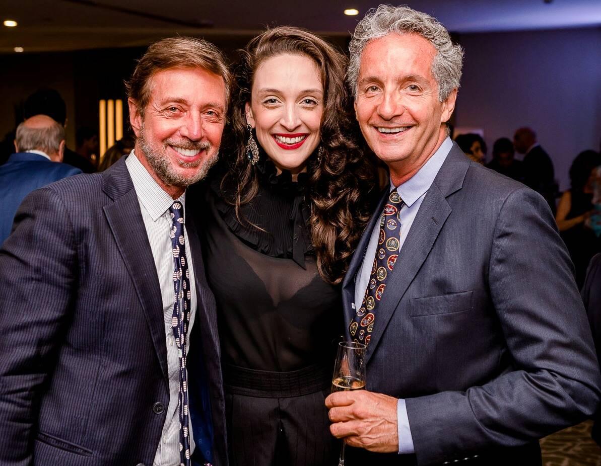 Nando Grabowsky, Anna Medrado e Pedro Guimarães /Foto: Bruno Ryfer