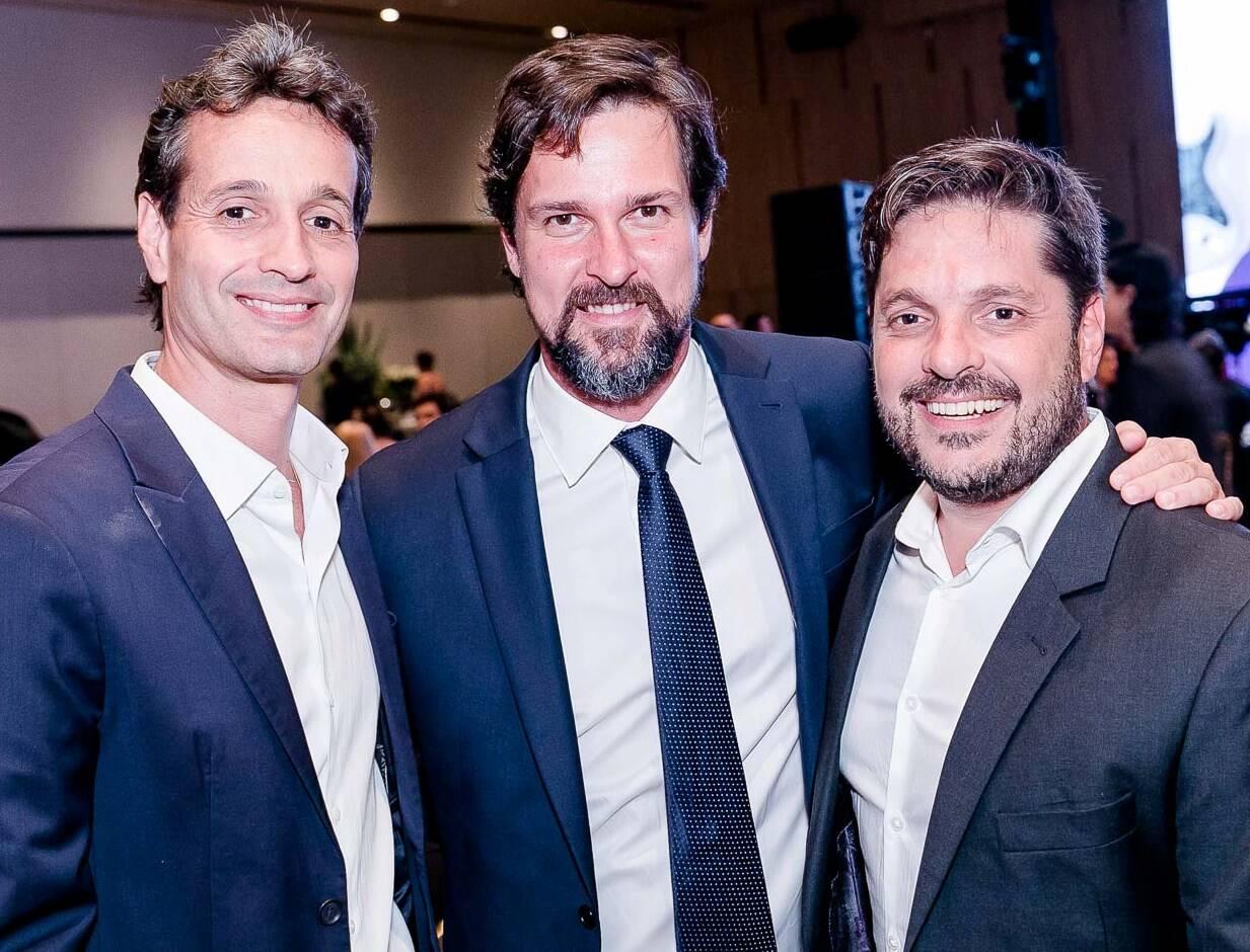Rodolfo Medina, Luis Justo e Rafael Lazarini /Foto: Bruno Ryfer