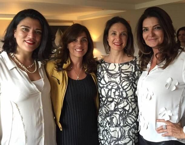 Amanda Rostelo, Glaucia Nogueira, Daniela Busarello e Adriana Althoff