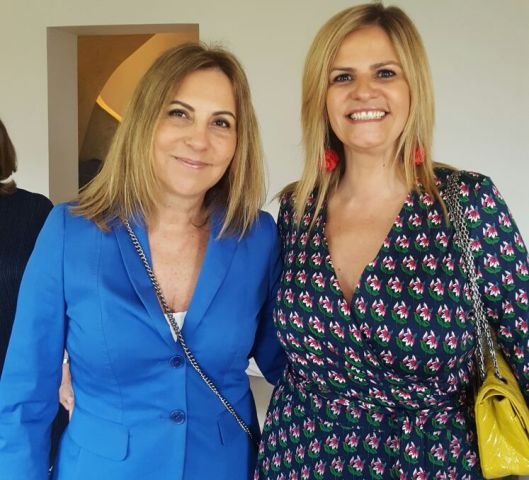 Teresa Portela e Dora Bentes