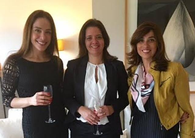 Cassia Batistella, Tula Moraes e Glaucia Nogueira