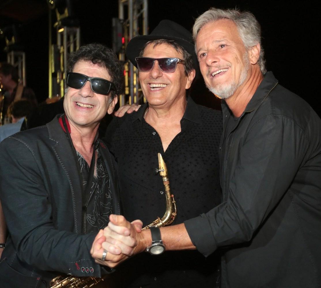 George Israel, Evandro Mesquita e Marcello Novaes /Foto: Vera Donato