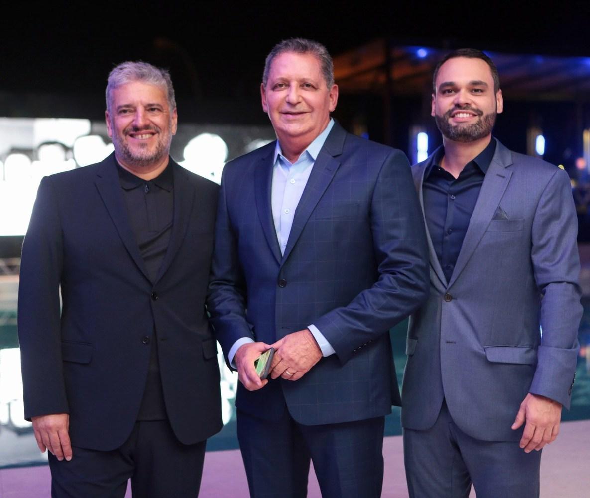Marcos Freitas, Waldo Palmerston e Andre Ladeira /Foto: Vera Donato