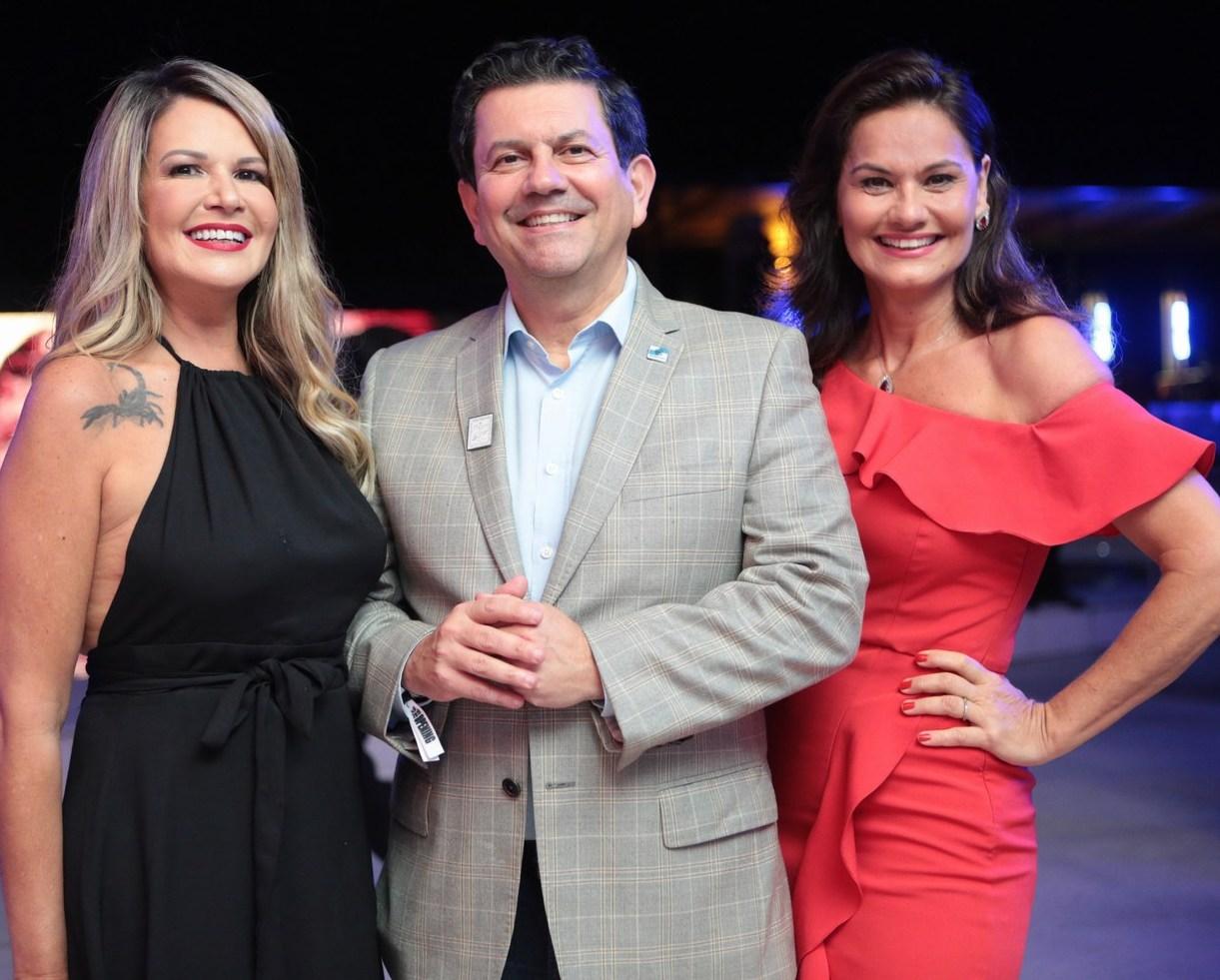 -Viviane Fernandes, Otavio Leite e Magda Cotrofe /Foto: Vera Donato