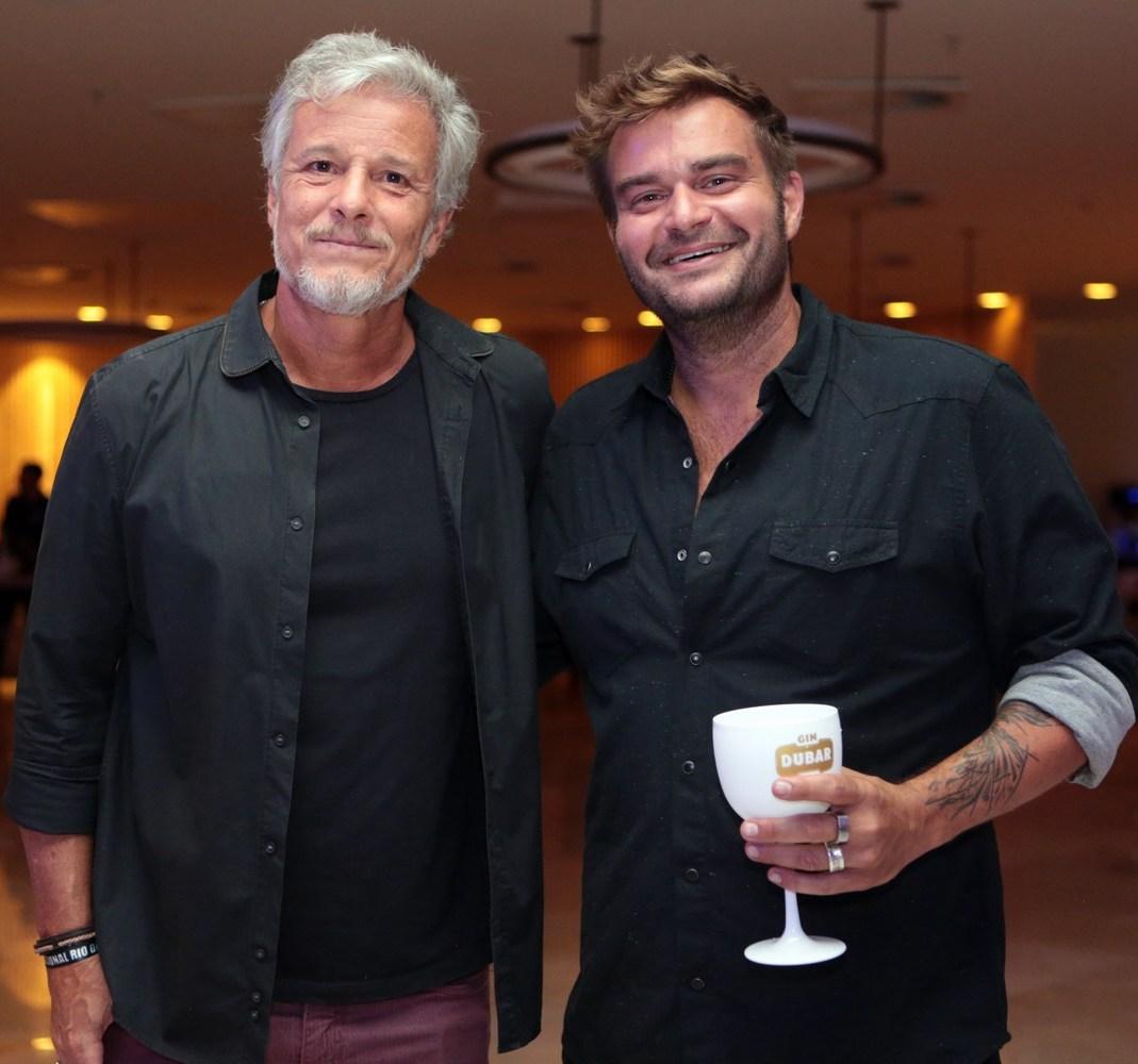Marcelo  Novaes e Davi Lacerda /Foto: Vera Donato