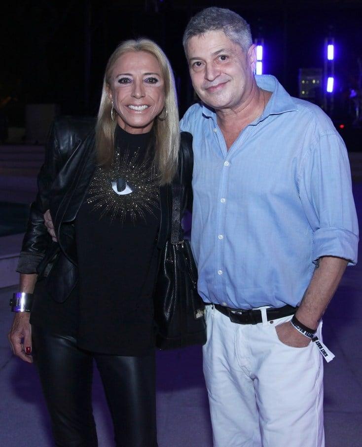 Bernard de Casteja e Cristina Leite /Foto: Vera Donato