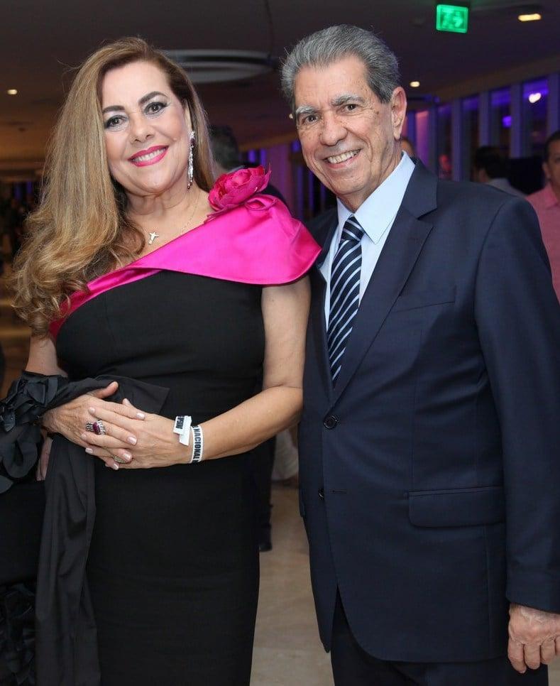 Karmen Emília Nunes e Luiz Antônio Araújo /Foto: Vera Donato