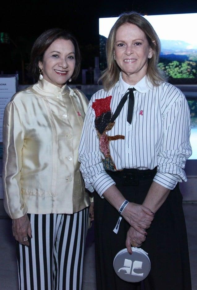 Sueli Bambieri e Aninha Costa /Foto: Vera Donato