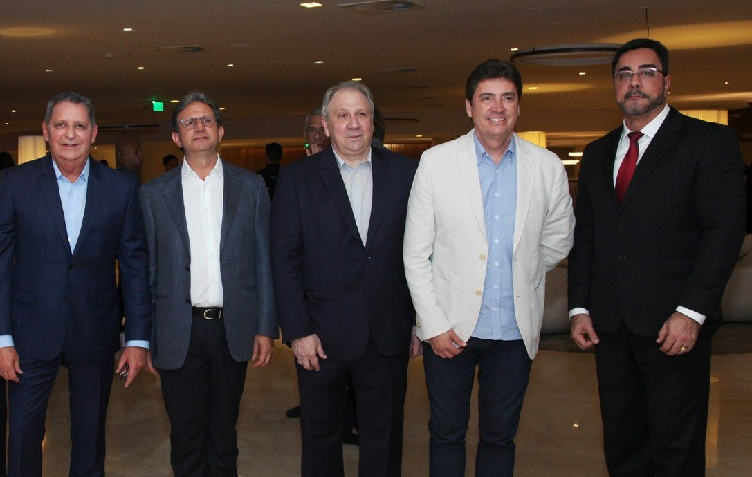 Waldo Palmerston, José Carlos Vieira, José João Stival, Wilder Morais e Marcelo Bretas /Foto: Vera Donato