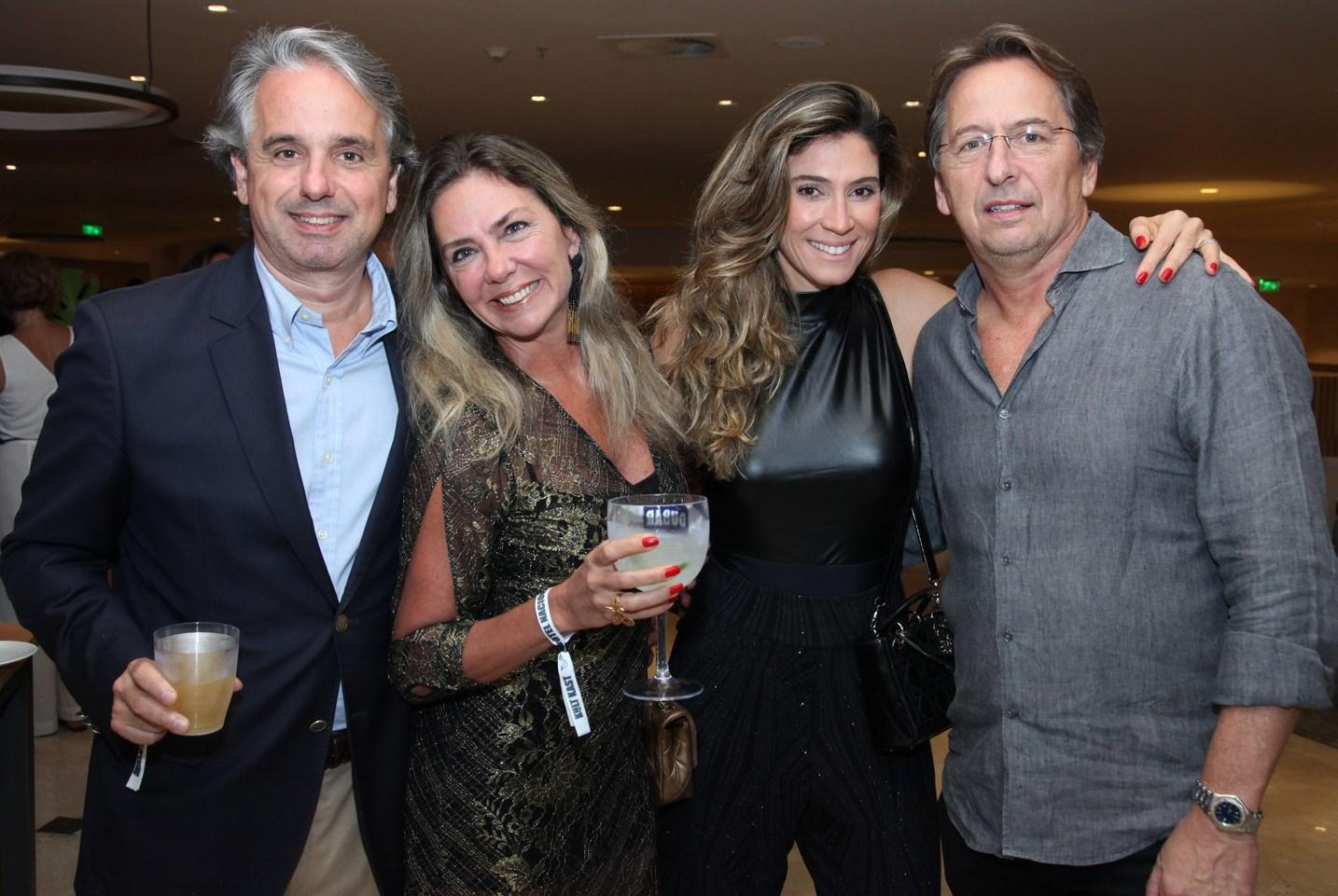 Pedro Senna, Marcia Verissimo, Simone Cavalieri e Janick Daudet /Foto: Vera Donato