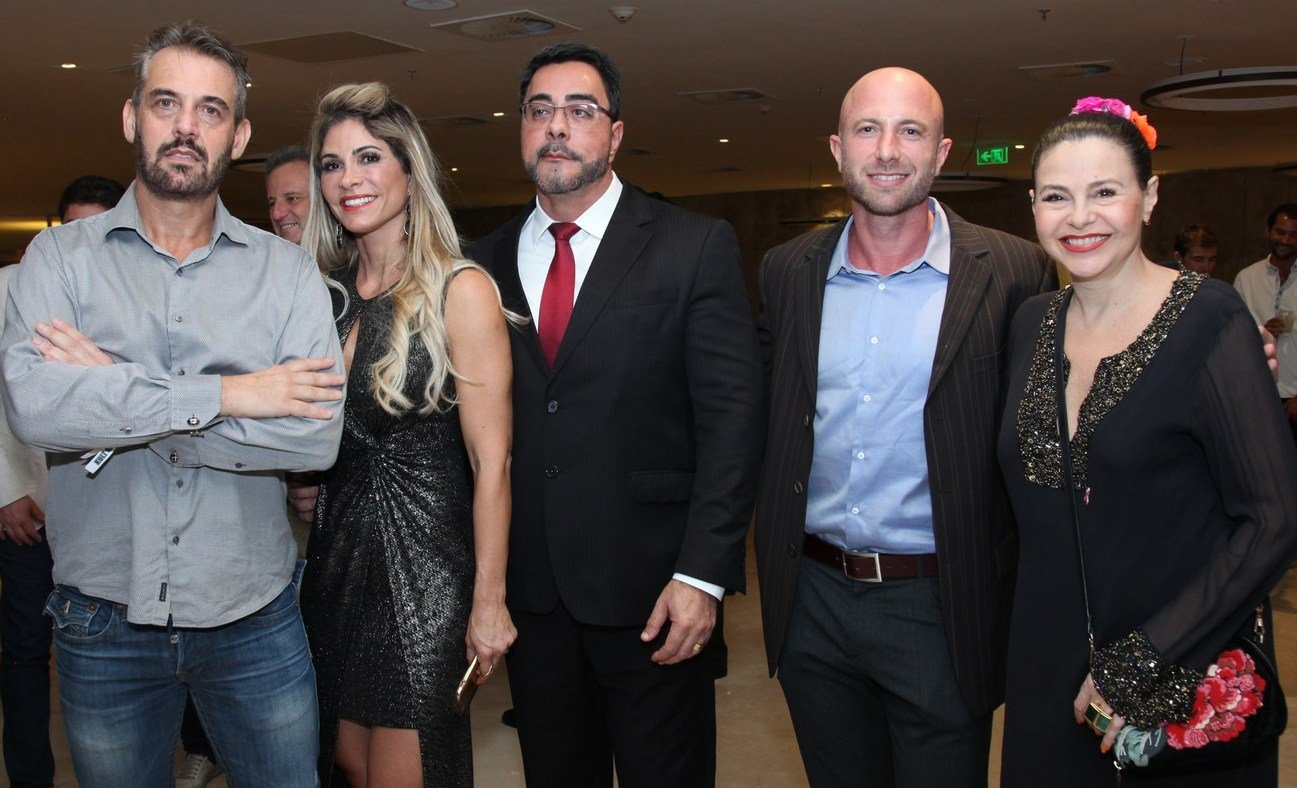 Walter Goldfarb, Simone Bretas, Marcelo Bretas, Stefan Ganglberger e Yara Figueiredo /Foto: Vera Donato