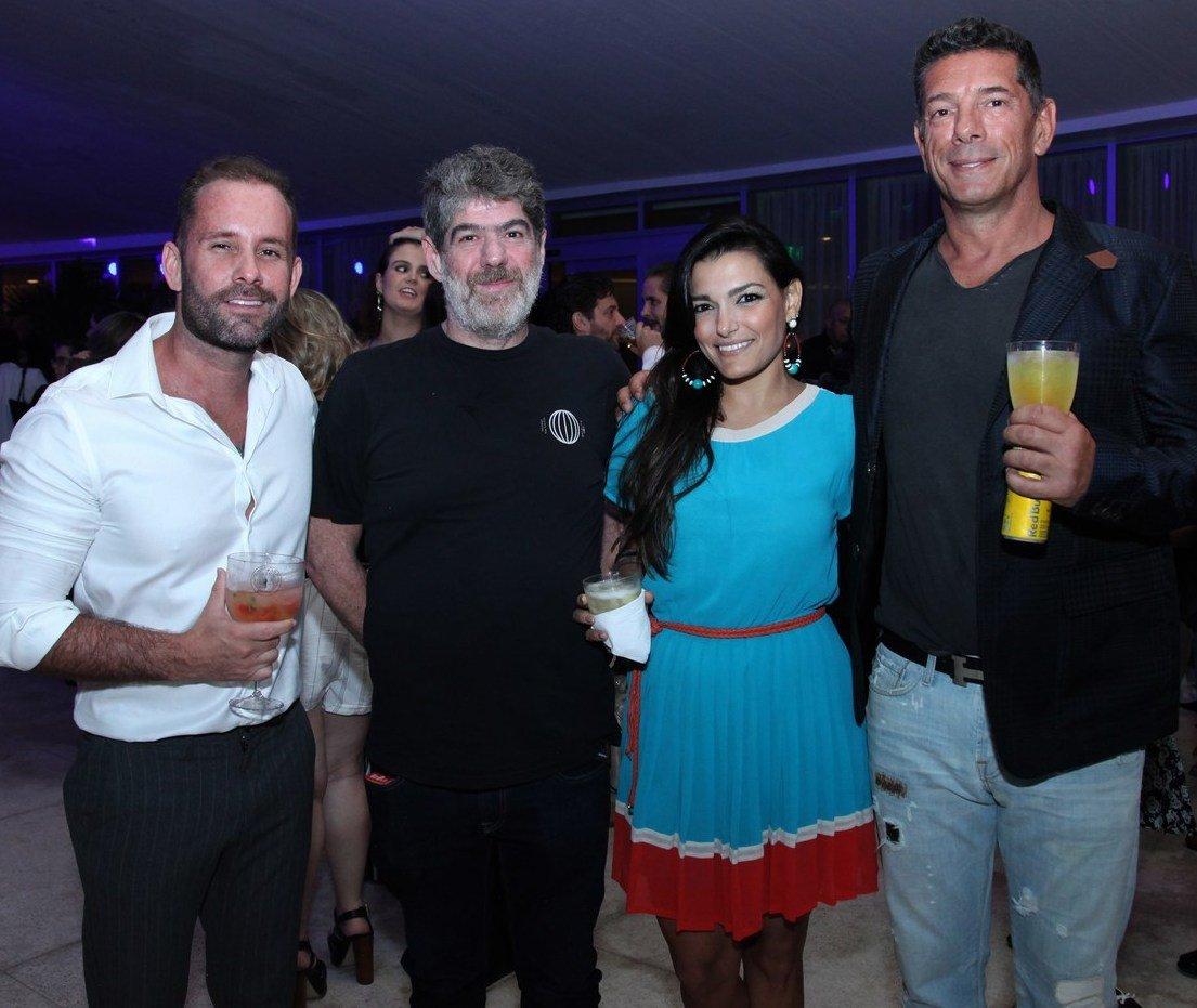 Leo Marçal, Sidney Chreem, Carolina Guarino e Julio Pignatari /Foto: Vera Donato
