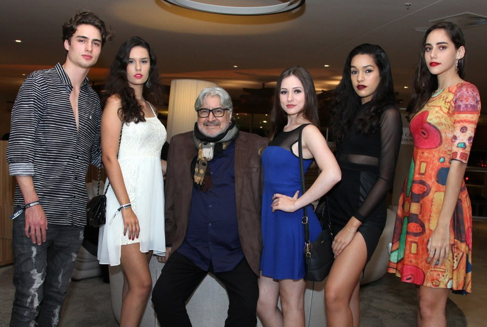 Igor Westphal, Karla Sabrina, Sergio Matos, Gabriela Venera, Giovanna Otto, Marina Meirelles /Foto: Vera Donato