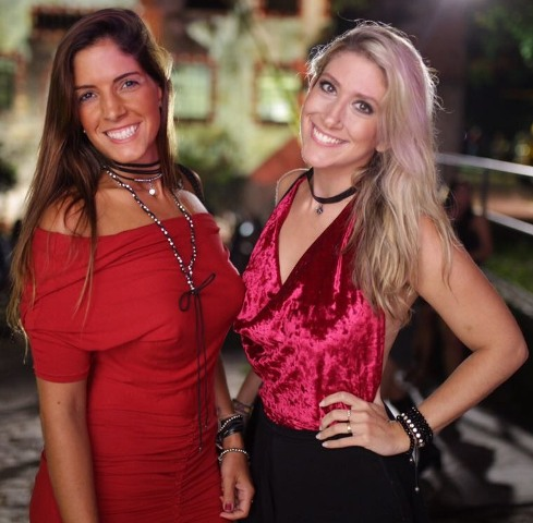Ana Luiza Camargo e Lorena Braga