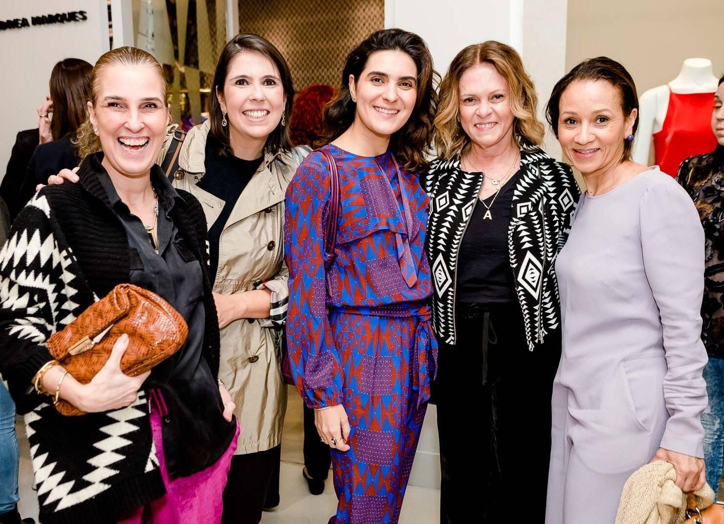 Bebel Schmidt, Fabiana Leite, Roberta do Rio, Aninha Costa e Alessandra Marins /Foto: Bruno Ryfer