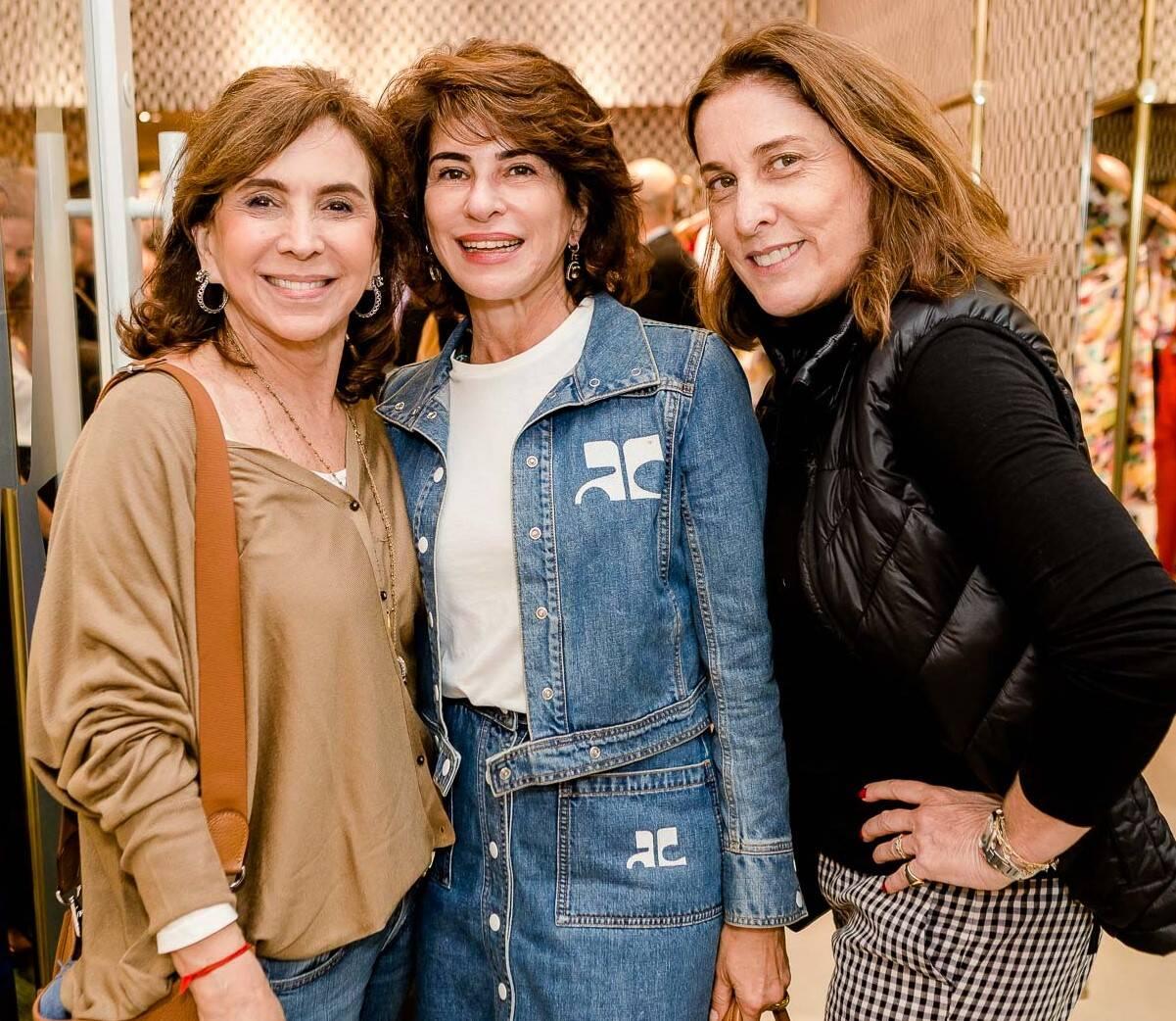 Beth Vianna Pinto, Patricia Peltier e Anna Luiza Avellar /Foto: Bruno Ryfer