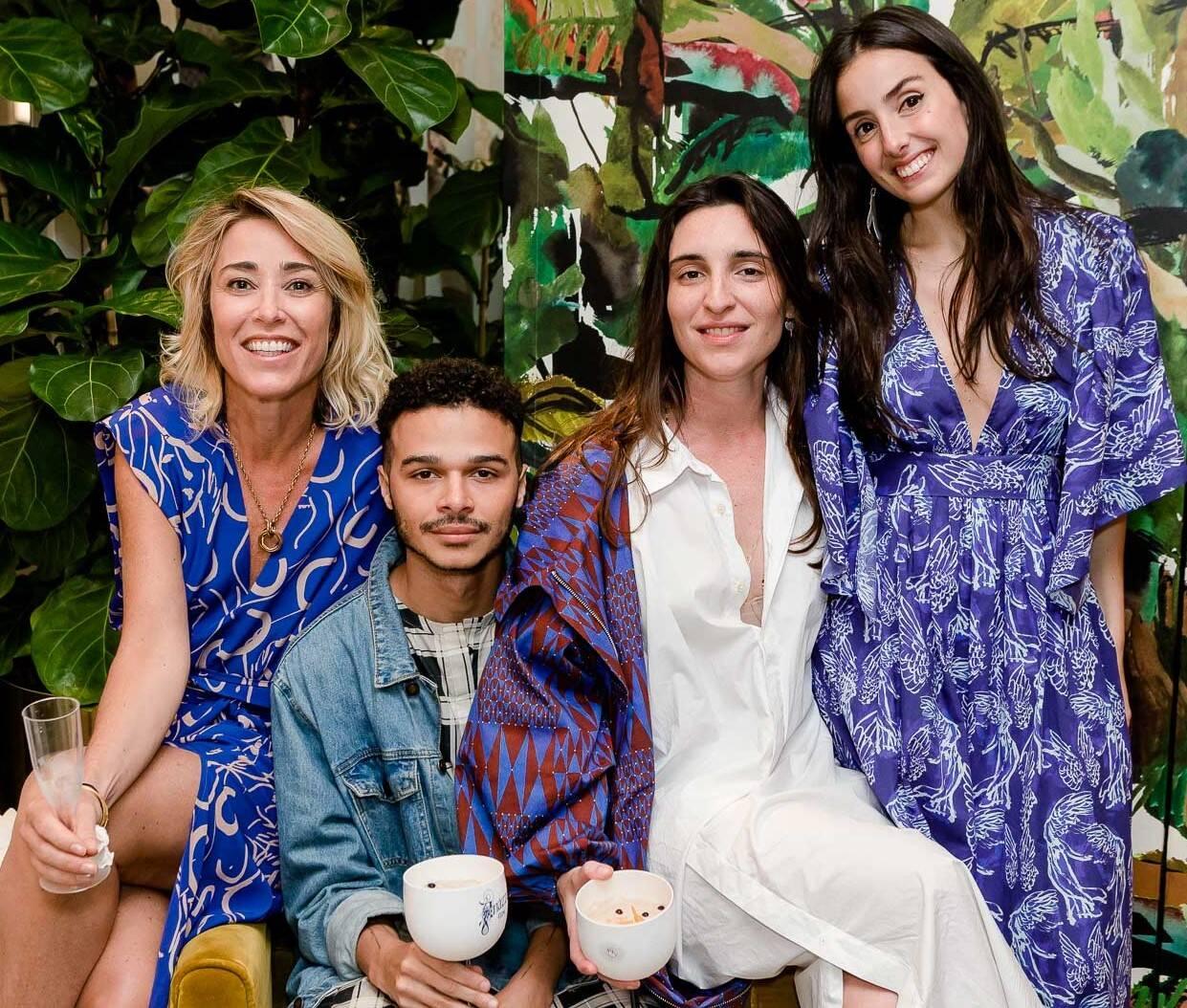 Gabriela Moraes, Marcos Pavão, Mariana Falcão e Maria Antonia Ferraz /Foto: Bruno Ryfer