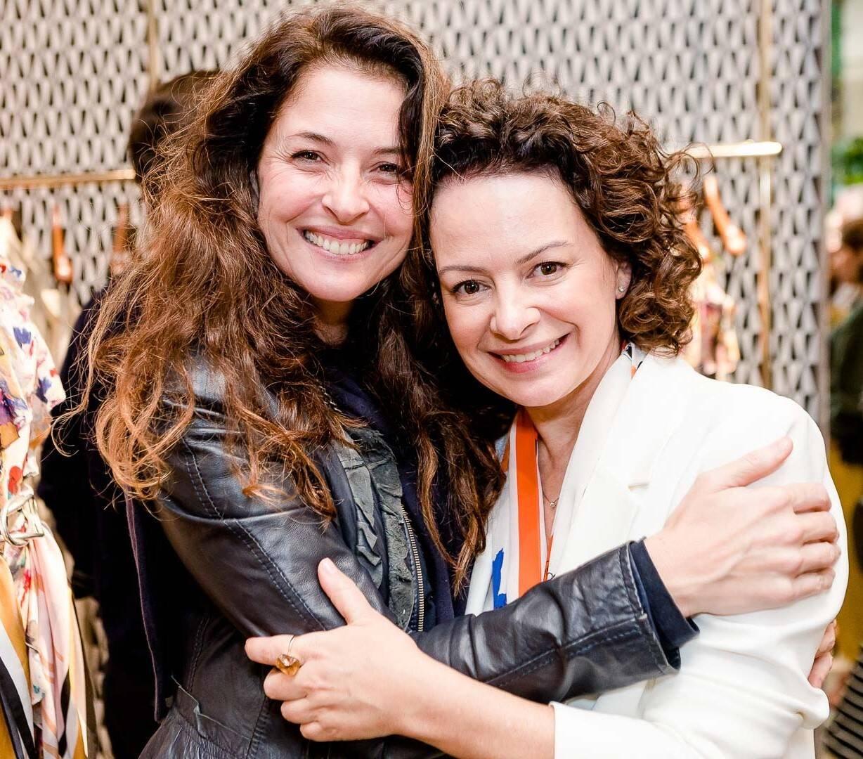 Martha Macedo e Andrea Marques /Foto: Bruno Ryfer