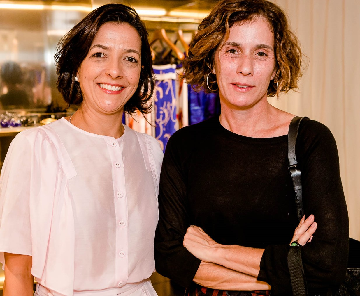 Monica Viana e Nazareth Metsavaht /Foto: Bruno Ryfer