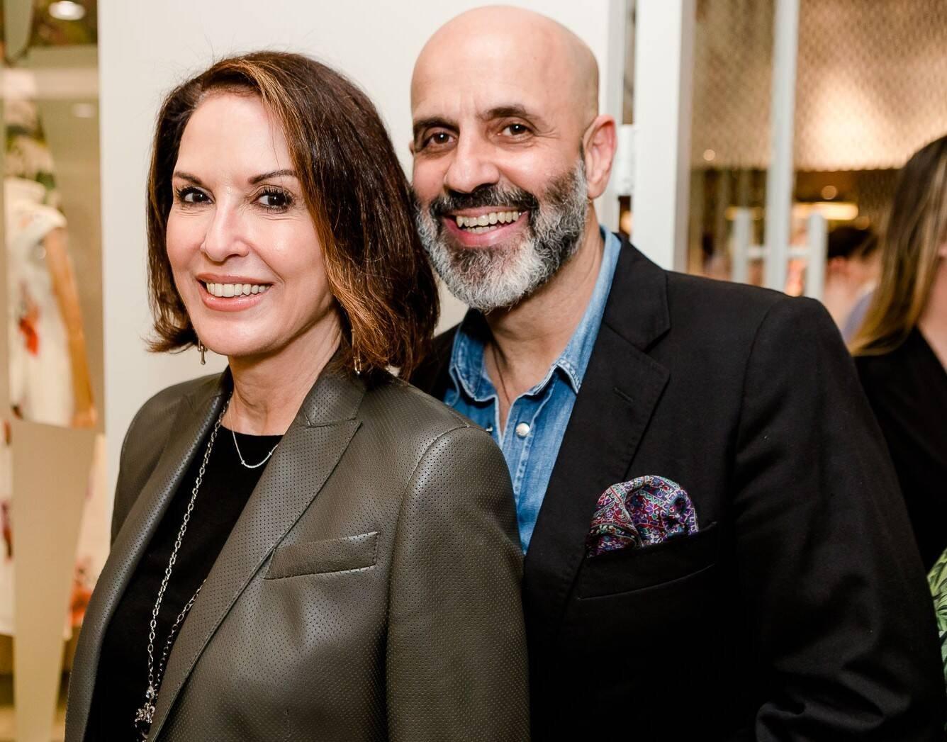 Regina Martelli e Claudio Gomes /Foto: Bruno Ryfer