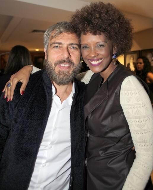 Anderson Müller e Isabel Filardis